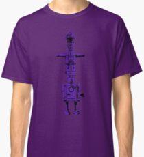 Robot Totem - BiLevel Purple Classic T-Shirt