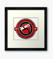 Freestyle Wrestling Competition Ready Suplex Red  Framed Print