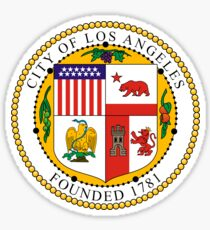 Seal of the City of Los Angeles Sticker