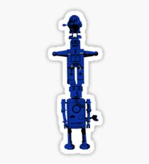 Robot Totem - BiLevel Blue Sticker