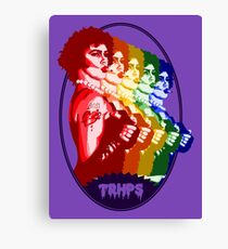 The Rocky Horror Picture Show - Rainbow Canvas Print