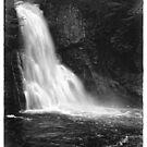 Main Falls at Bushkill Falls by Aaron Campbell
