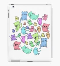 catto ghost party iPad Case/Skin