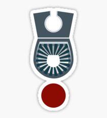 Star Blazers: Wave Motion Technologies Logo Sticker