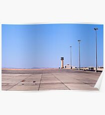 Marsa Alam Airport, Egypt. Poster