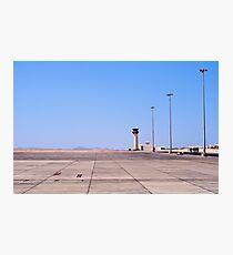 Marsa Alam Airport, Egypt. Photographic Print