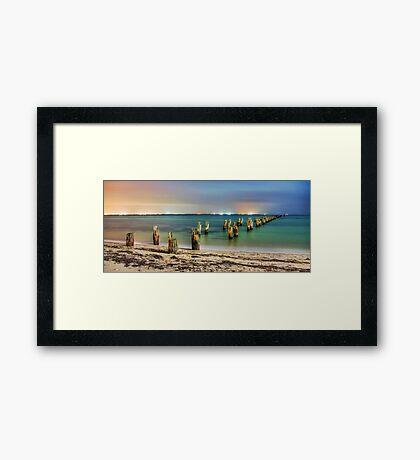 Illuminated Framed Print