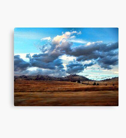 Where Buffalo Once Roamed Canvas Print