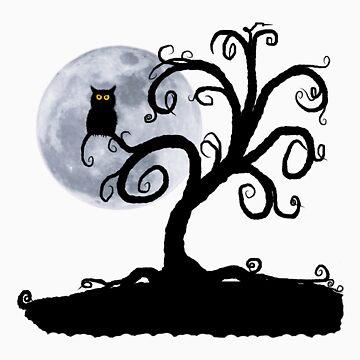 Halloween Tree by NobleImages
