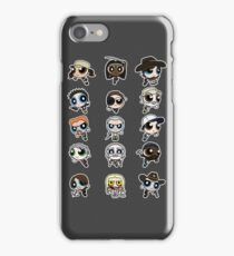The Walking Dead Puffs Parody iPhone Case/Skin