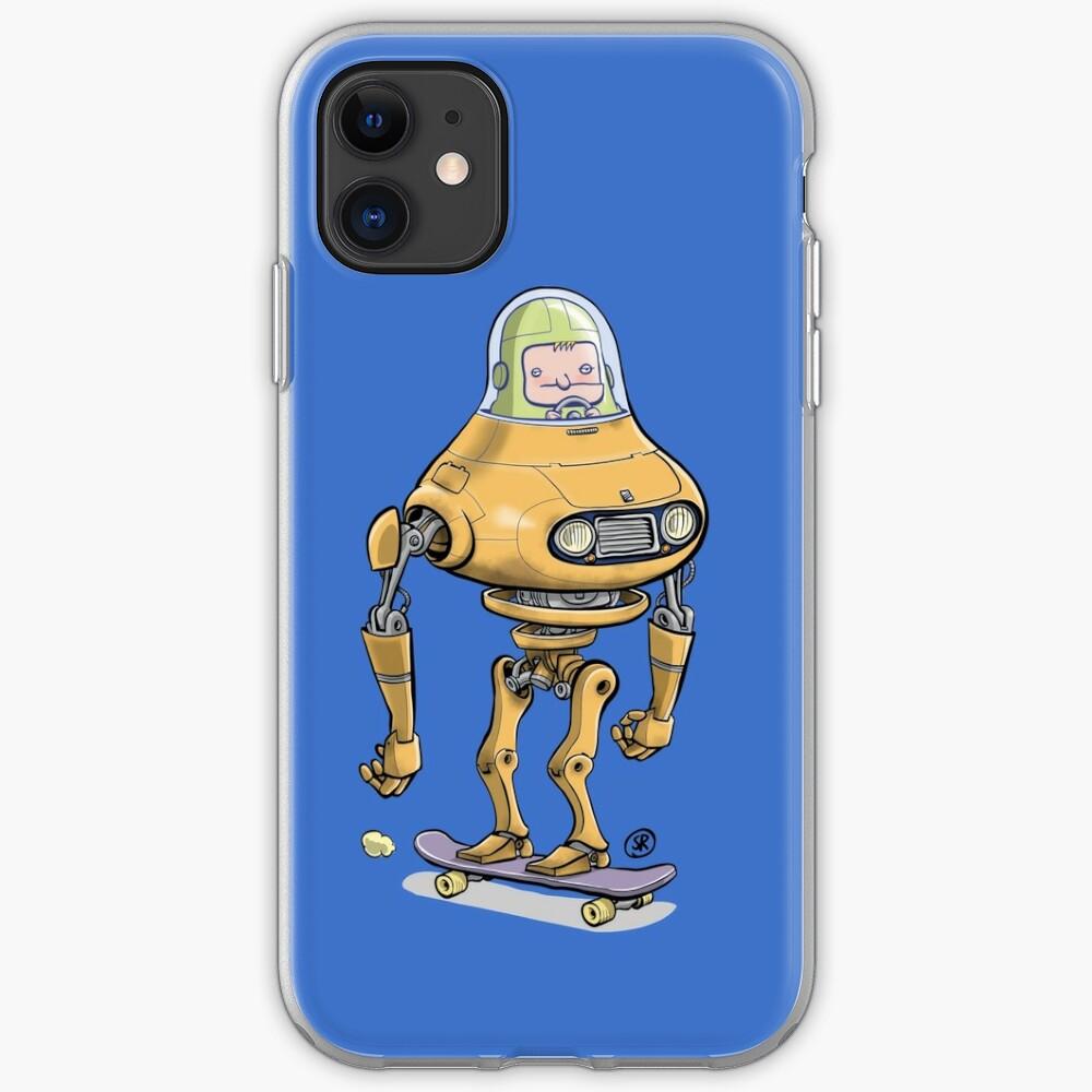 Skateboard robot iPhone Case & Cover