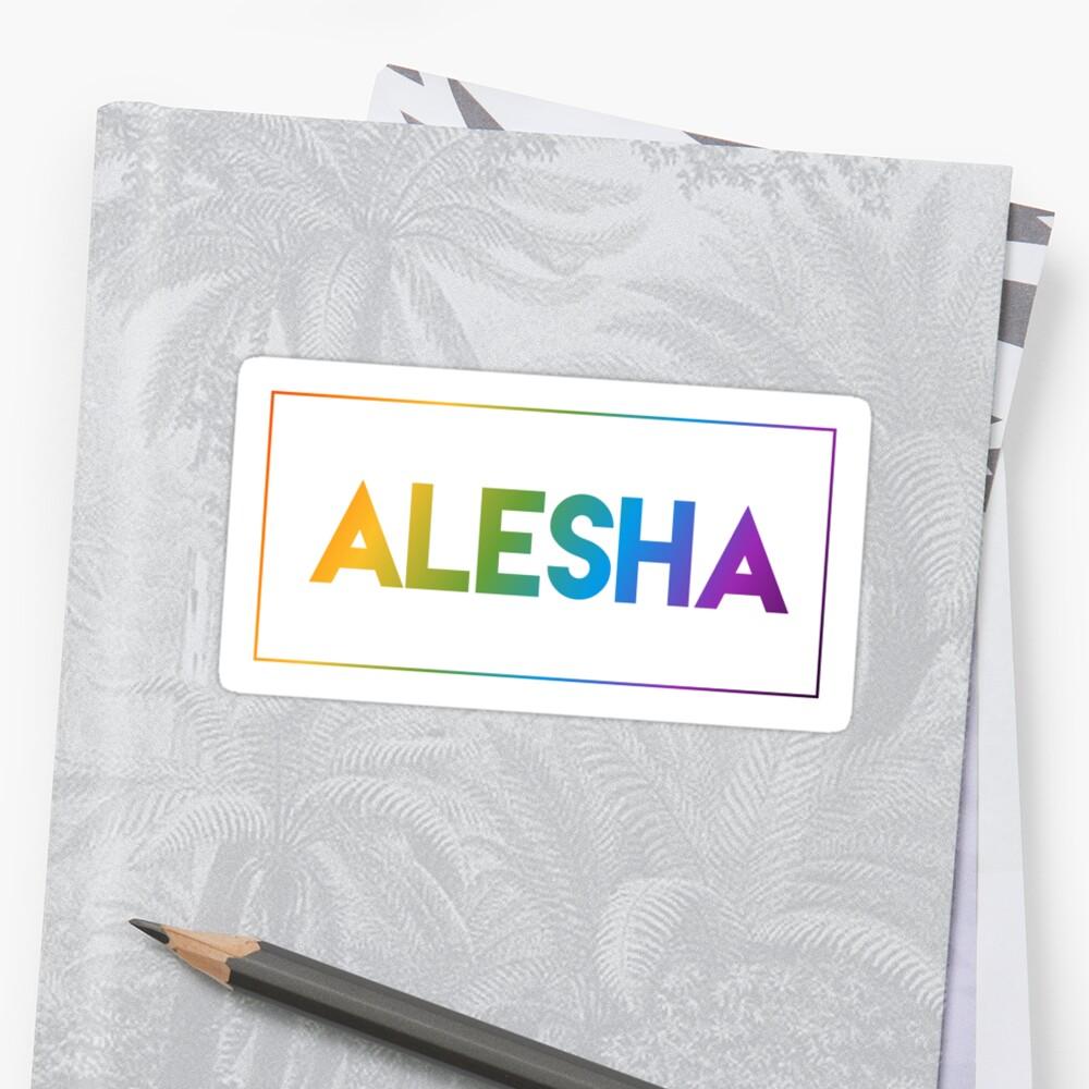 Alesha - Pride Edition Sticker