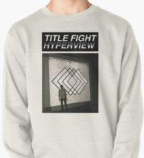 Title Fight Hyperview Album Cover Design Pullover Sweatshirt