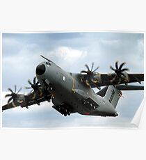 Airbus Military A400M Demonstrator EC-402 Aircraft Poster