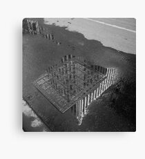 Manchester Unity Building, reflected Canvas Print