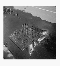 Manchester Unity Building, reflected Photographic Print