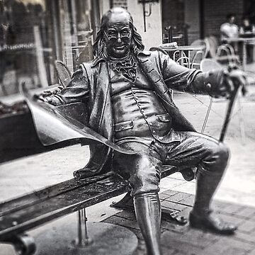 Life-Size, Bronze Statue, Benjamin Franklin, Country Club Plaza by PhotosByTrish