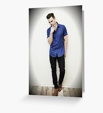 Matt Bomer Greeting Card