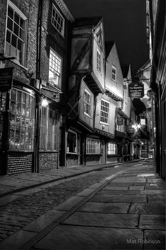 The Shambles, York: 2 by Mat Robinson