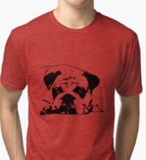 sad dog Tri-blend T-Shirt