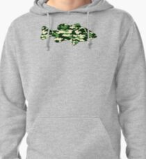 Camo Bass  Pullover Hoodie
