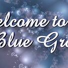 So Blue Welcome Banner by plunder