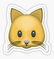Kitty Cat Emoji  Sticker