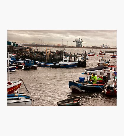 At the Mouth of the River Tees Photographic Print