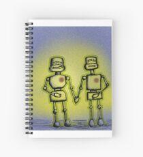 L(ove) E(mitting) D(roids) Spiral Notebook
