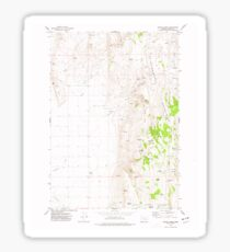 USGS Topo Map Oregon Mahon Creek 280625 1973 24000 Sticker