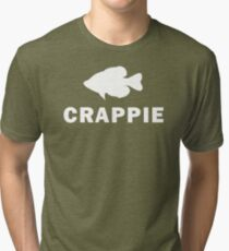 Simply Crappie  Tri-blend T-Shirt