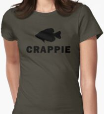 Simply Crappie  Womens Fitted T-Shirt