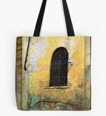 Arched Gated Window - Italy Tote Bag