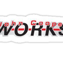 John Cooper Works Sticker