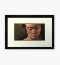 Temper Framed Print