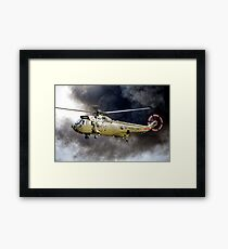 Royal Navy Westland Sea King HC Mk.4   Framed Print
