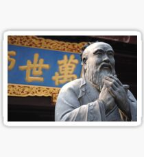 Confucius Sticker