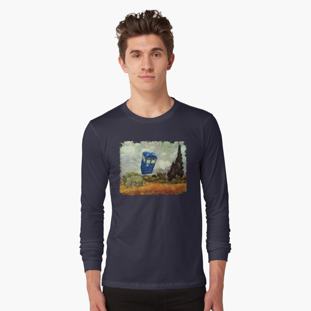 Vincent and the Doctor Long Sleeve T-Shirt