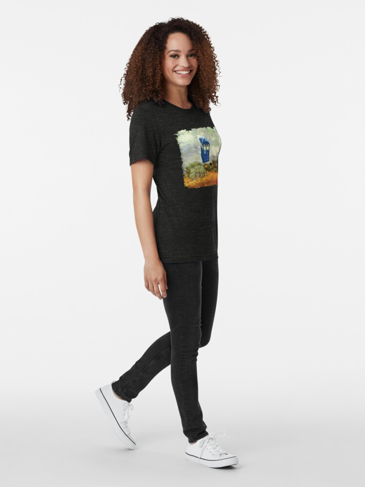 Alternative Ansicht von Vincent und der Doktor Vintage T-Shirt
