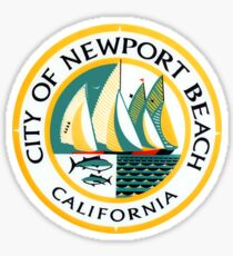 Newport Beach City Seal Sticker Sticker