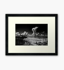 mullet key Framed Print