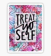 Treat Yo Self Parks and Recreation  Sticker