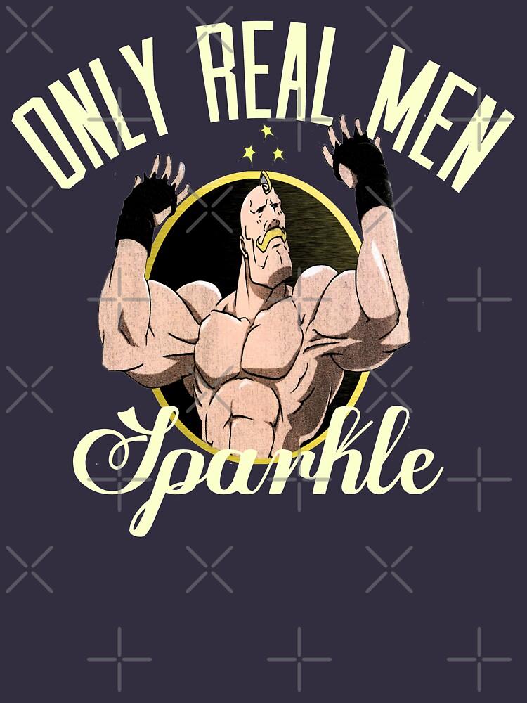Nur echte Männer funkeln von kurticide
