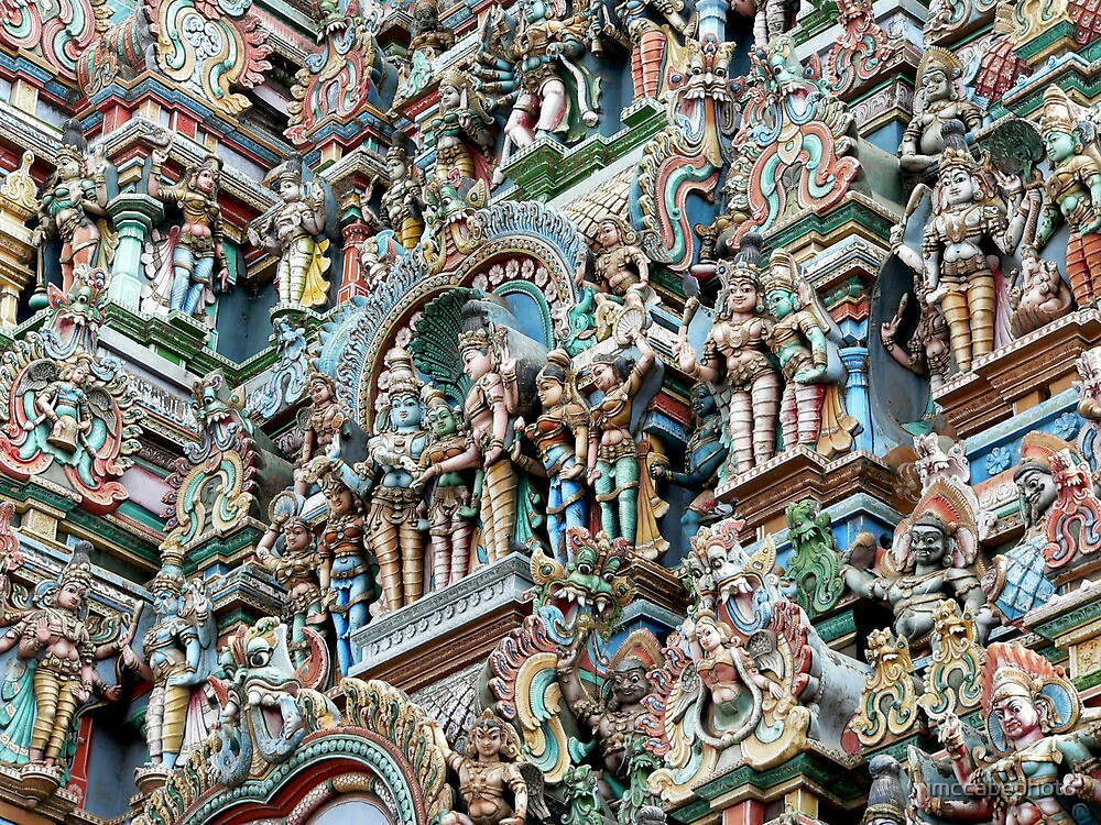 Temple carvings by jmccabephoto