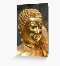 Gold Buddha Greeting Card