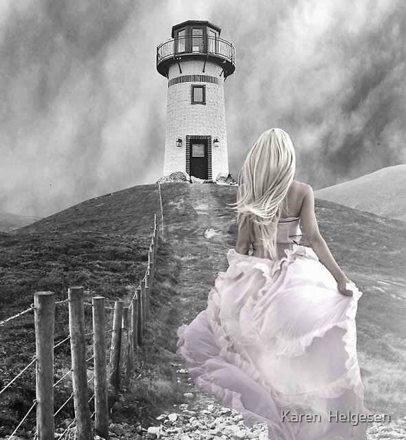 To The Lighthouse... by Karen  Helgesen