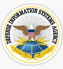 US Defense Information Systems Agency Emblem Sticker Sticker