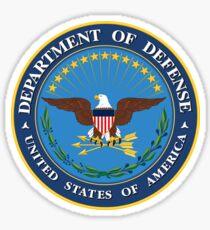 US Defense Department Emblem Sticker Sticker