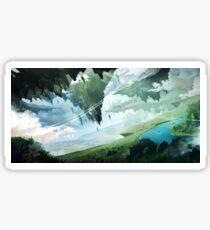 Floating Islands Sticker