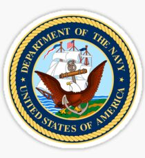US Navy Emblem Sticker Sticker